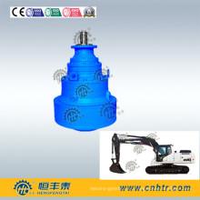 Reductor de velocidad de engranajes planetarios para accionamientos de engranajes giratorios