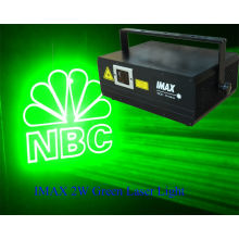 Quickshow Controlled Laser Stage Light , Green Light For Big Shows