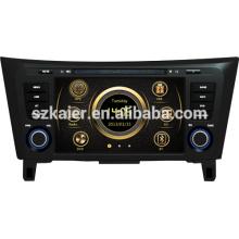 Heißer verkauf direkt fabrik autoradio für Nissan Qashqai / X-TRAIL mit GPS / Bluetooth / Radio / SWC / Virtuelle 6CD / 3G / ATV / iPod