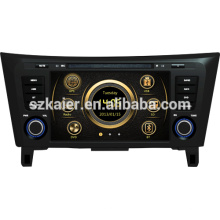 Vente chaude usine directe radio de voiture pour Nissan Qashqai / X-TRAIL avec GPS / Bluetooth / Radio / SWC / virtuel 6CD / 3G / ATV / iPod