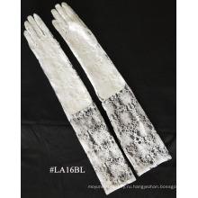 Мода кружева перчатки длинные запястье