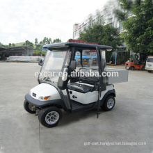 Electric car, 2 Seater electric golf cart with cabin cheap golf cart for sale