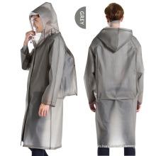 Adult Lightweight Hooded EVA Waterproof Raincoat