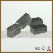 Segmento de diamante para corte de concreto de mármore de granito