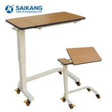 SKH201-4 Table de chevet réglable à l'hôpital avec roues