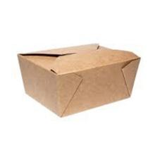 Boîtes à lunch en papier jetables