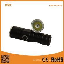 C53 XPE R2 LED Light Small Pocket LED Mini Flashlight