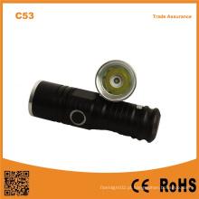 C53 XPE R2 LED Luz Pequeno Bolso Mini Lanterna LED