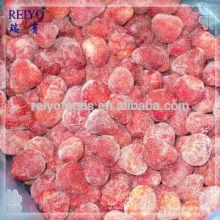 Gefrorene Erdbeere