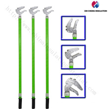 Duckbilled Grounding Earth Rod with Clamp/China Wire Set Supplier