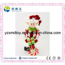 Plush Christmas Gifts Soft Christmas Elf Toy