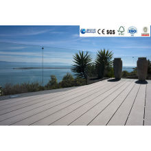 Wood Plastic Composite Decking with CE, Fsg SGS, Certificate
