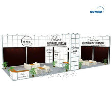 Shanghai factory export acrylic expo stand exhibition booth display custom