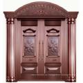 Puerta principal de cobre real