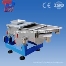 Tamis à vibrations électriques industrielles à chaud à la Chine et à vibration linéaire rectangulaire
