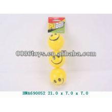 smily PU foam sponge ball