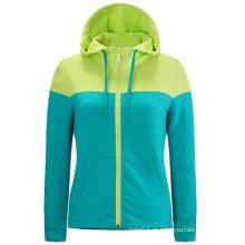Últimas Custom seu próprio logotipo mulheres Fitness Hoodies