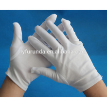 FURUNDA 100% cotton inspection gloves led gloves
