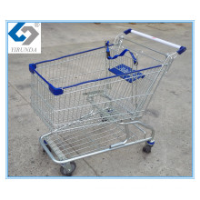 150L America Style Shopping Trolleys with Zinc Plated