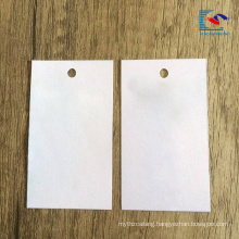2018 hot sale Custom Logo Luxury Recycled Garment Paper Hang Tag
