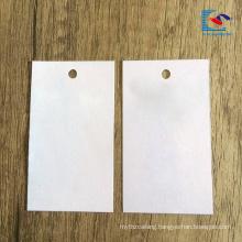 2018 hot sale Custom Logo Luxury Recycled Garment Paper Hang Tag