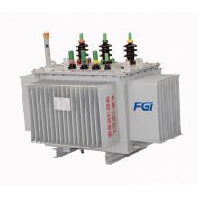 Transformateur de puissance d'huile en plein air