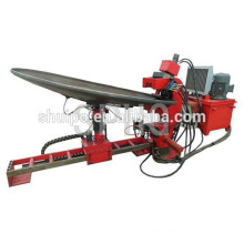 No Template Irregular Dished Head Folding Machine/steel flange making machine