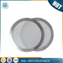 Zweckvoller Filter - Aeropress Edelstahl Metall Kaffeefilterscheibe - Feinstes Mesh - Erlaubt natürliche Öle - Entfernt Papiergeschmack