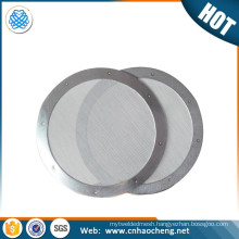 Purposefull Filter - Aeropress Stainless Steel Metal Coffee Filter disc - Finest Mesh - Allows Natural Oils - Removes Paper Tast