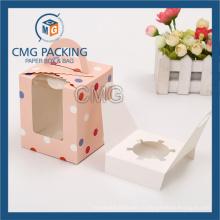 Сложенная Коробка торта для торта чашки