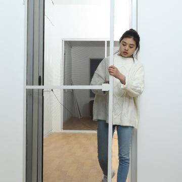 Aluminum insect screen door