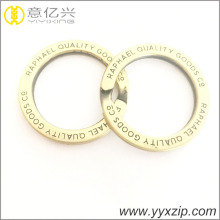 Fashion metal nickel plated iron split key ring