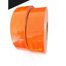 Pet оранжевый светоотражающие ленты для безопасности дорожного движения