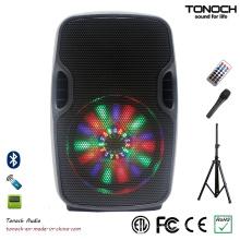8-дюймовый профессиональный портативный громкоговоритель с программным RGB-подсветкой
