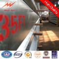 35FT 3mm Espessura galvanizada elétrica utilitário polo
