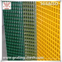 GRP / FRP / rejilla de la fibra de vidrio para el piso de la escalera y la plataforma