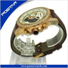 Super Sport Armbanduhr mit Stein Einstellung Fabrik Preis Psd-2780
