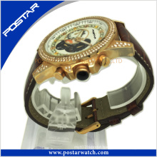 Super Sport Wrist Watch with Stone Setting Factory Price Psd-2780