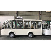 Pure electric sightseeing bus with ce