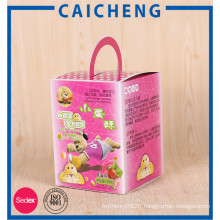 Full colored printing food packaging paper boxes for biscuit candy