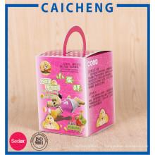 Полный цветной печати пищевой упаковки бумажные для печенья конфеты