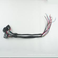 Chicote de fios off-road da luz do trabalho do diodo emissor de luz 8pin