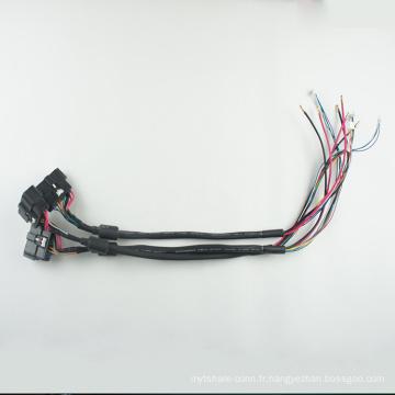 Harnais de fil off-road de lumière de travail de 8pin LED