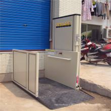 Plataforma de elevador de cadeira de rodas Sjd para pessoa com deficiência