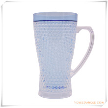Doppelwand Frosty Mug Frozen Ice Bierkrug für Werbegeschenke (HA09070-2)
