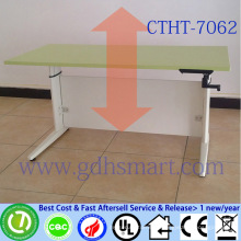 alibaba furniture commercial furniture home furniture height adjustable office table manual crank
