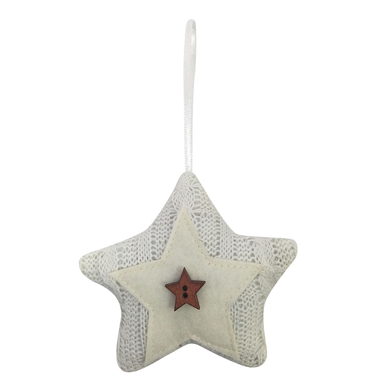 Christmas Tree Star Shape Ornaments