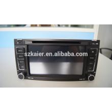 ¡Fábrica directamente! Reproductor de DVD del coche de la base cuadrada android para el coche, wifi, BT, vínculo del espejo, DVR, SWC para VW OLD TOUAREG