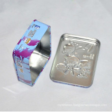 Color Printed Square Tin Can Packing Cans