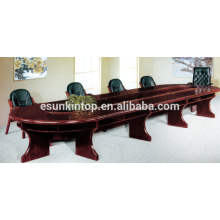 Wooden table for wooden finishing , Double layer conference table desk (T01)
